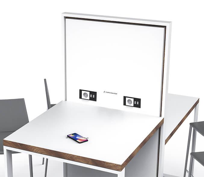 Yupcharge Cargador para móviles SmartFurniture Ska Mesa