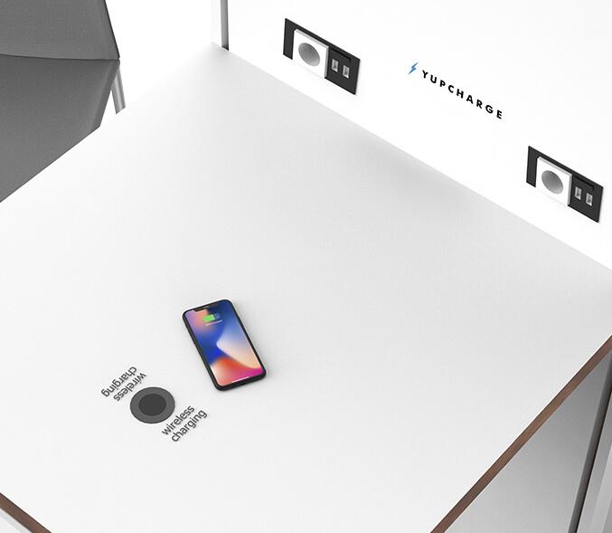 Yupcharge Cargador para móviles SmartFurniture Mesa Ska Render