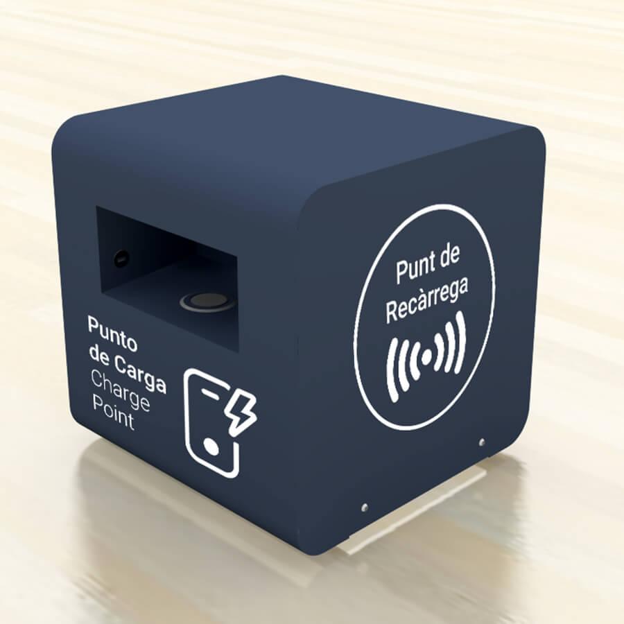Yupcharge Cargador para móviles Mobiliario Inteligente Disco