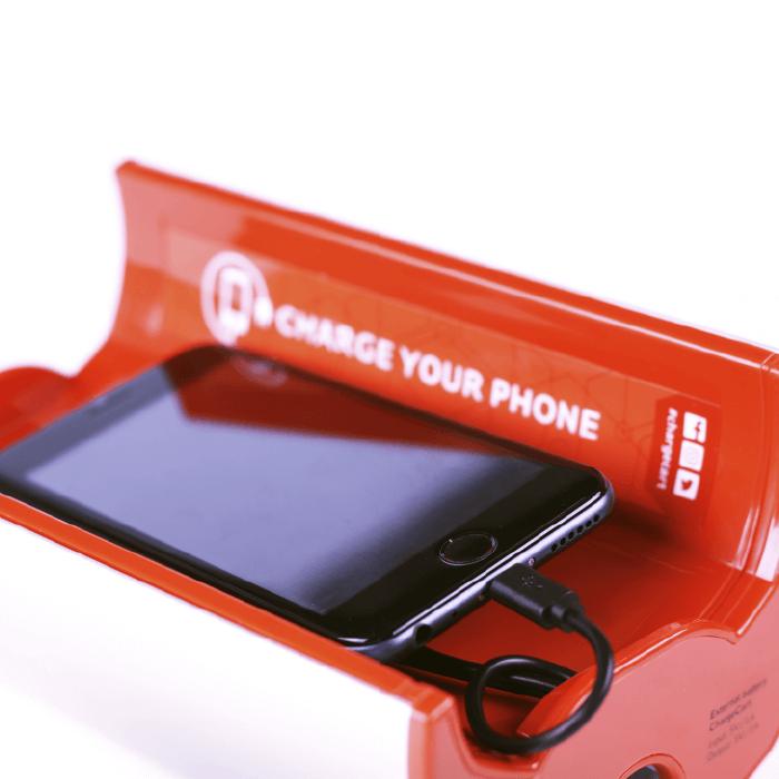 Yucharge Cargador para móviles ChargeTrolley para carritos compra 3