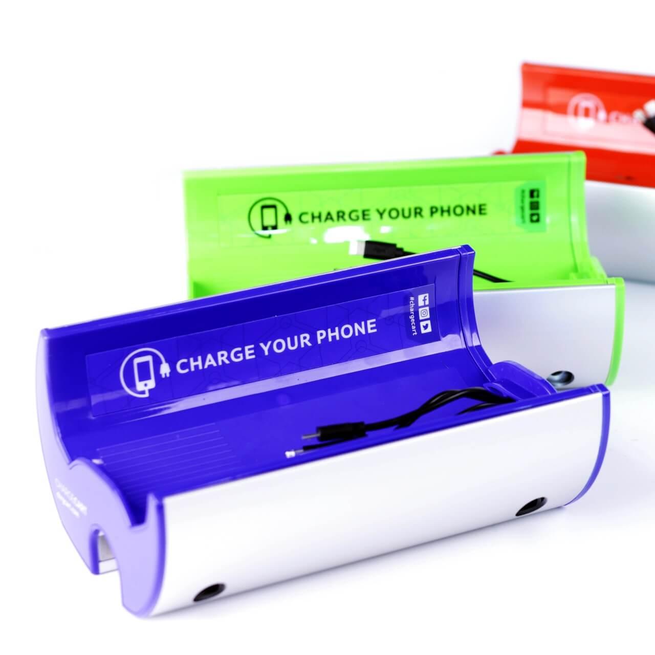Yucharge Cargador para móviles ChargeTrolley para carritos compra