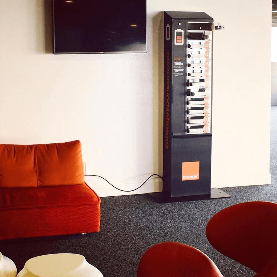 Yupcharge-Velodrome Orange-Cargador móvil Twist