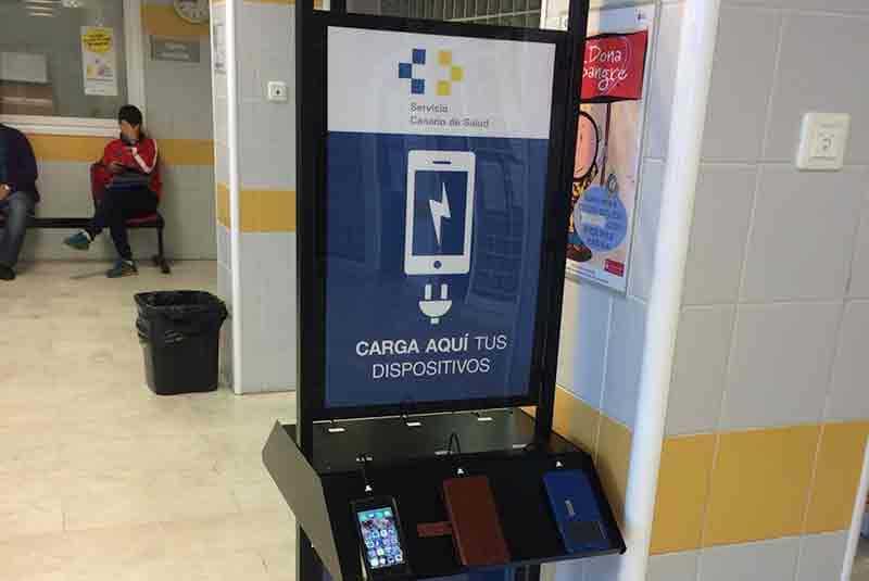 Yupcharge Cargador para móviles Hip Hop Hospital Insular Canarias