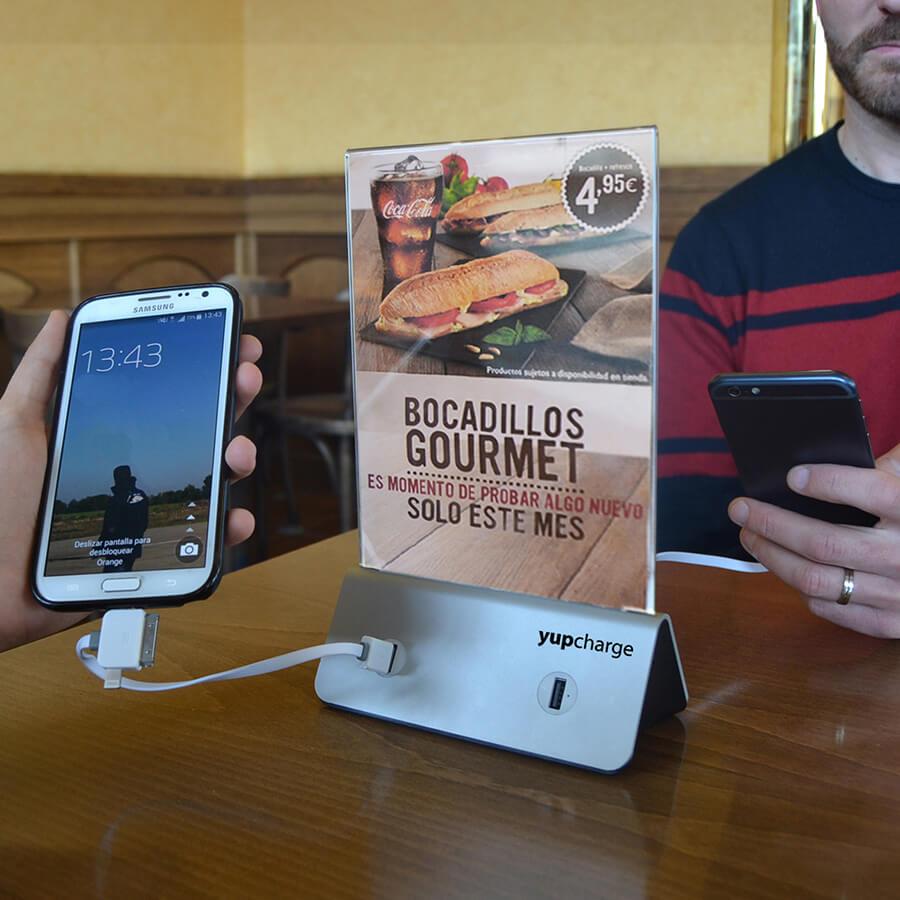 Yupcharge Cargadores para móviles Sobremesa Rodilla