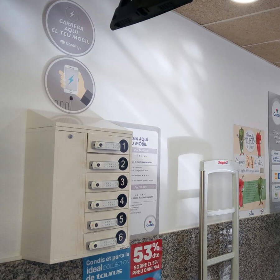 Yupcharge Cargadores para móviles Taquilla de carga PopMini