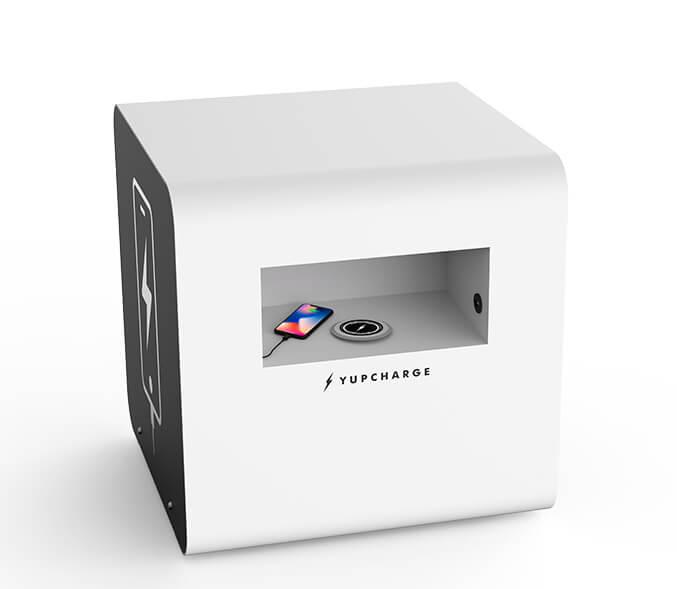 Yupcharge Cargadores para móviles Mobiliario Inteligente Disco Render