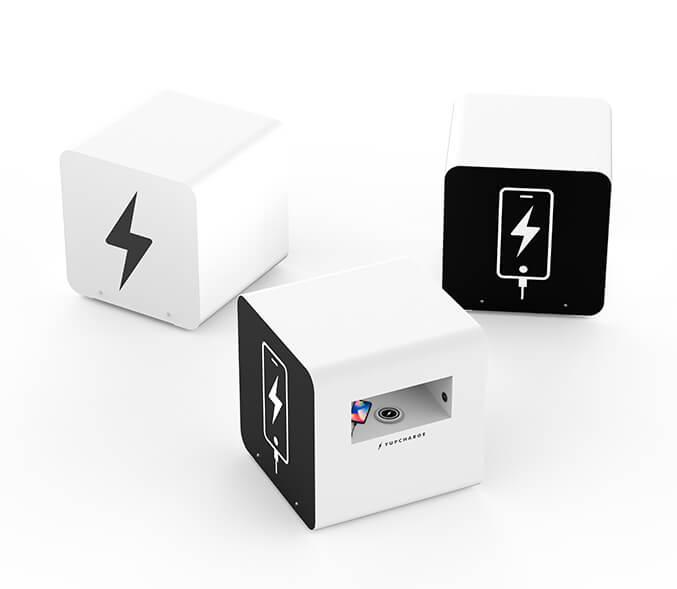 Yupcharge Cargadores para móviles Mobiliario Inteligente Disco