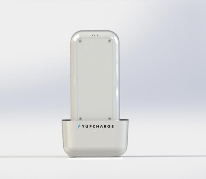 Yupcharge Cargador para móvil Sobremesa Blues ERGO - Dock de carga