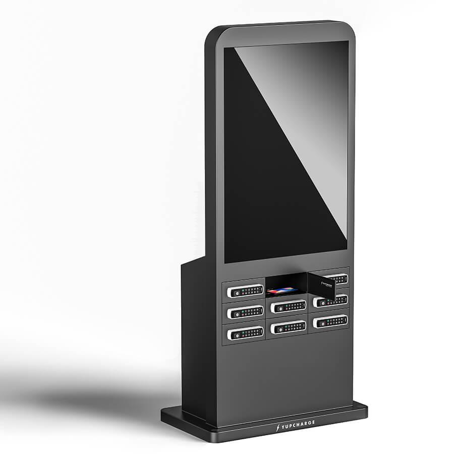 "Yupcharge Cargador para móviles taquillas de carga Twist DS 50"" pantalla LED y Keypad"