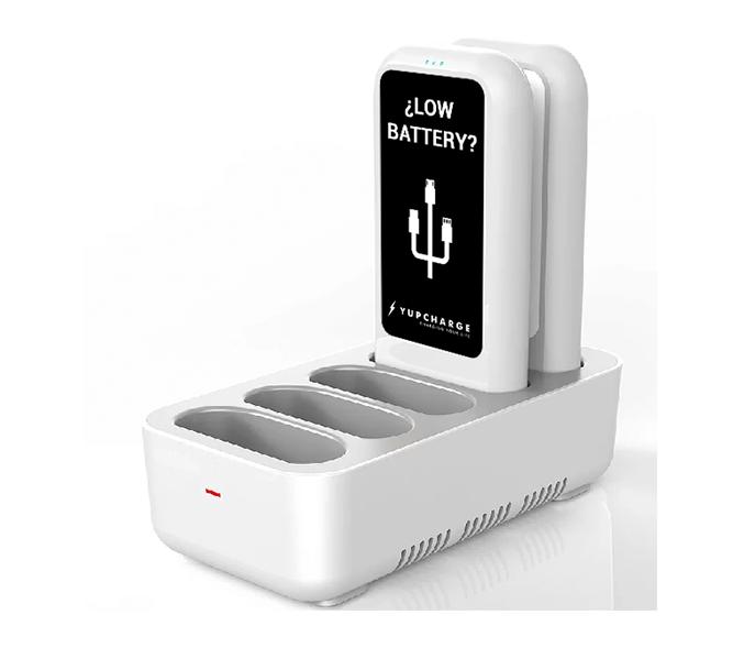 Yupcharge Cargador para móviles sobremesa Blues v3 base de carga rápida