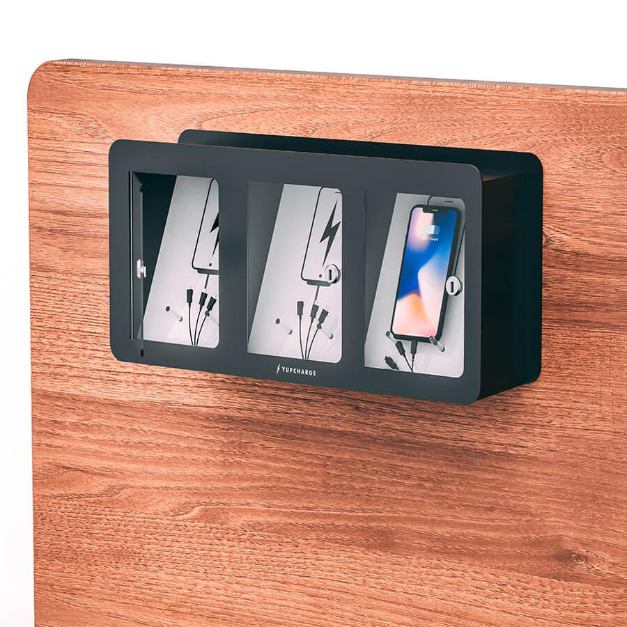 Yupcharge Cargador para móviles Taquilla de carga Soul 3 casilleros 3