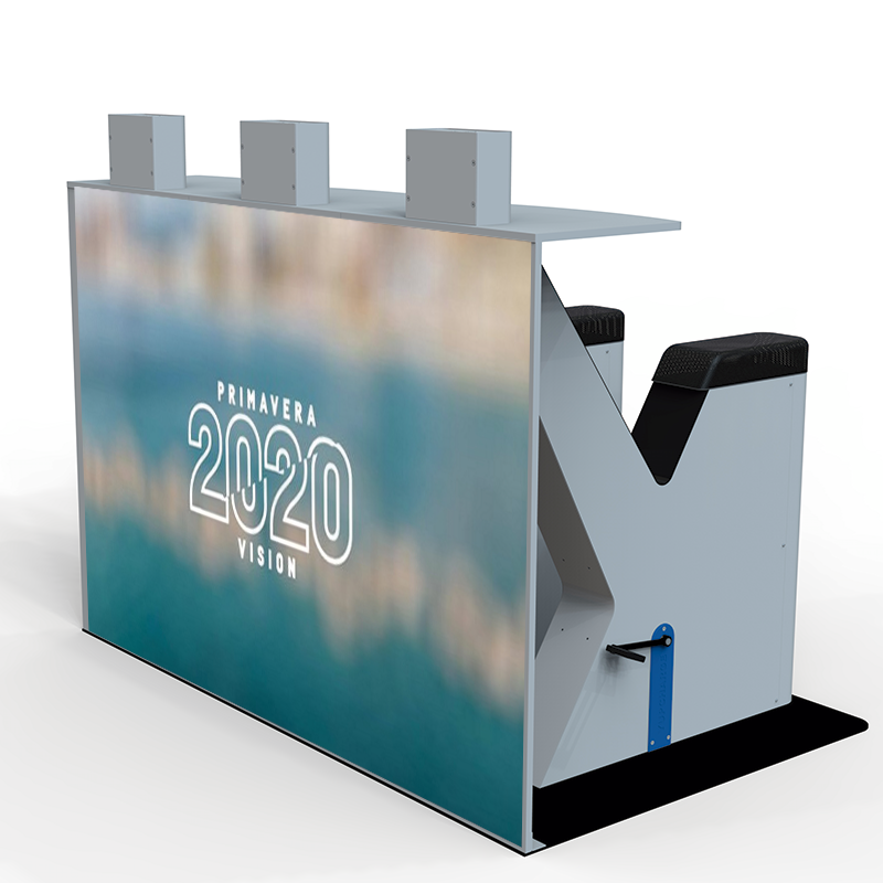 Yupcharge cargador YupBike con carga cinética para festivales y eventos para Primavera Sound 2020