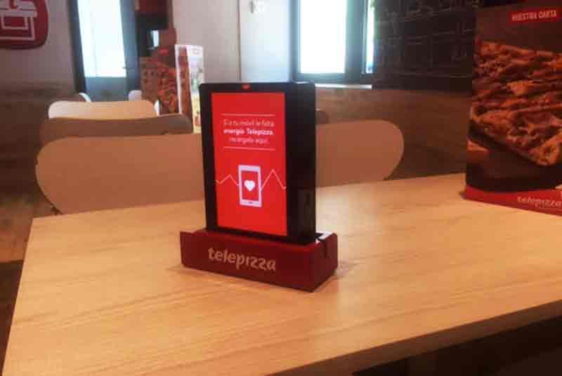 Yupcharge Telepizza Tango Cargador para móviles