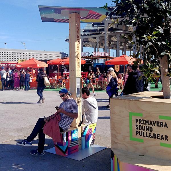 Yupcharge Cargadores para móviles Soleo Solar Festivales PrimaveraSound