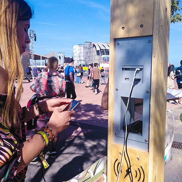 Yupcharge Cargadores para móviles Soleo Solar Festivales Musicales Primavera Sound