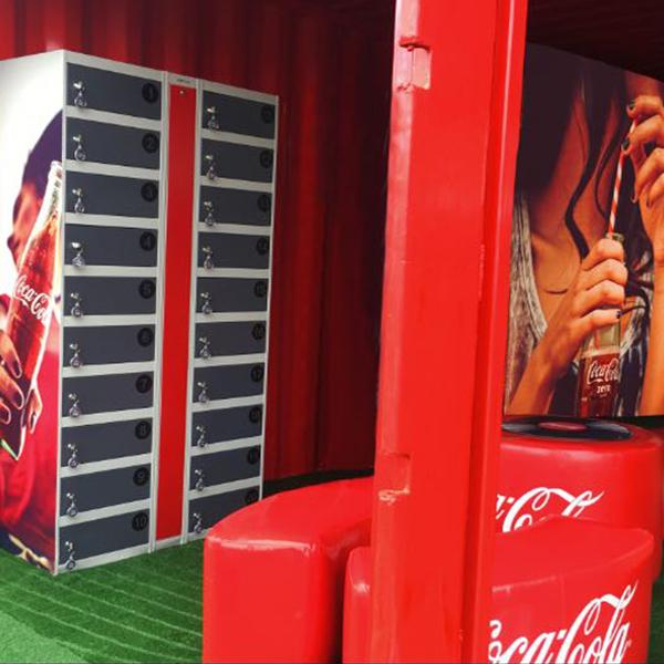 Yupcharge Cargadores para móviles Wall Festivales PrimaveraSound CocaCola