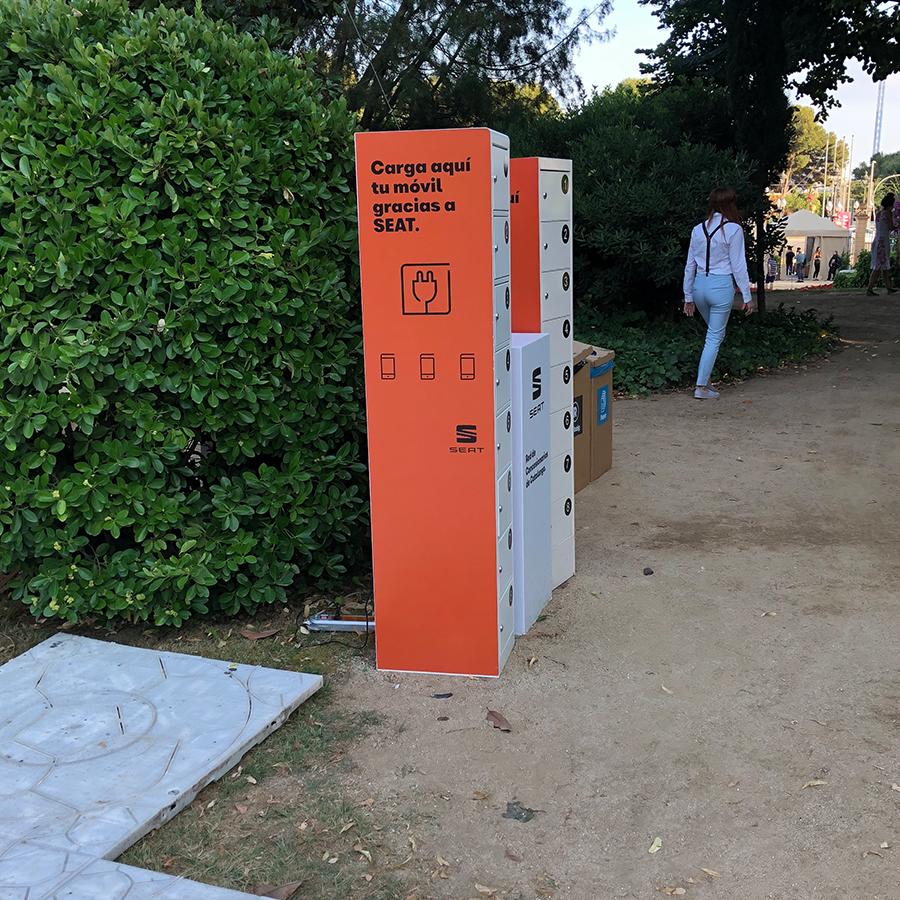 Yupcharge Cargadores para móviles PopRock Seat en Jardinets Pedralbes