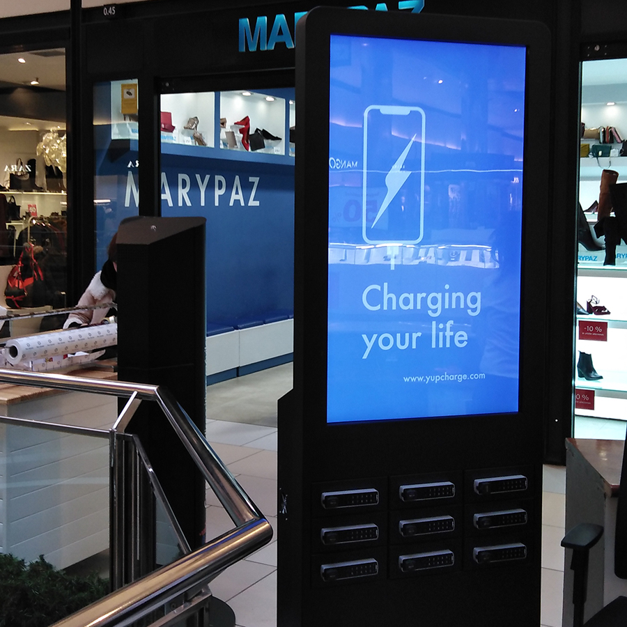 Yupcharge Cargadores para móviles Taquillas TwsitDS50 cc Parc Central